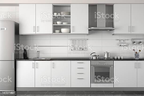 Interior design of modern white kitchen picture id147271831?b=1&k=6&m=147271831&s=612x612&h=j6t zmm0ezkrzi poh4elhdc vnpm7778l mc42s5vu=