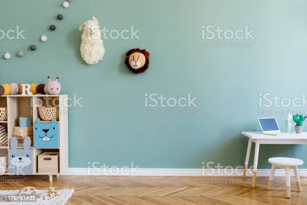 Interior design of scandinavian childroom with wooden cabinet mint picture id1179761433?b=1&k=6&m=1179761433&s=612x612&h=1odoh bkhl0cc0qjlc7vwrzxncmups pefegykfbask=