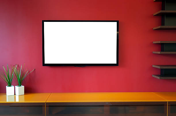 interior design - television industry stock photos and pictures