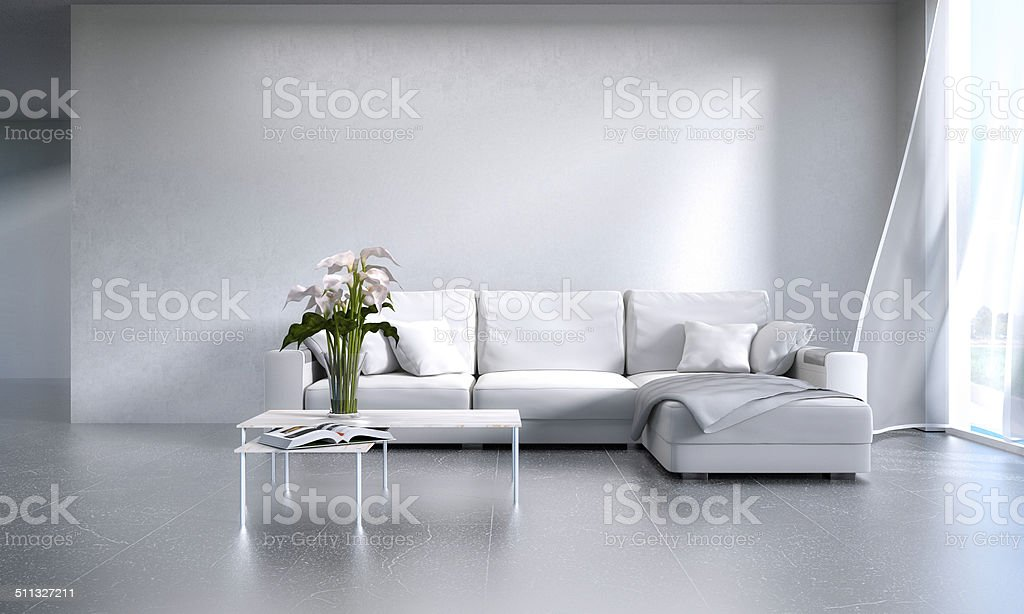 Interior design stock photo