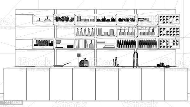 Interior design project black and white ink sketch architecture picture id1075468088?b=1&k=6&m=1075468088&s=612x612&h=qt ghf2jzkedw5kq 9cam3dlvu1xl8znc29akhwcl3m=