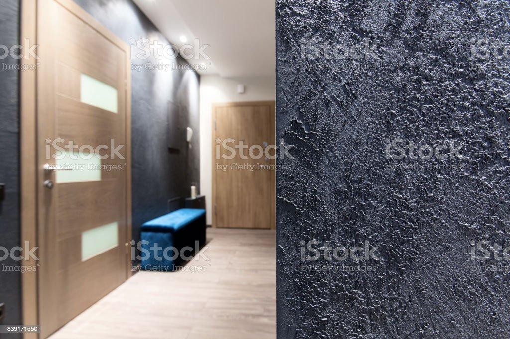 Innenarchitektur - rauhe Wand Textur – Foto