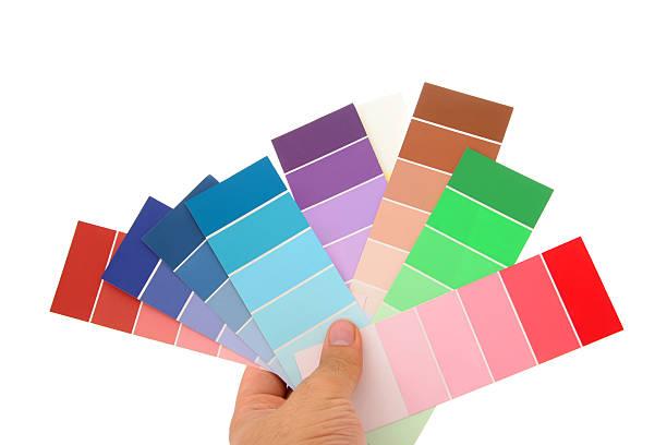 interior design-serie 04 - lila, grün, schlafzimmer stock-fotos und bilder