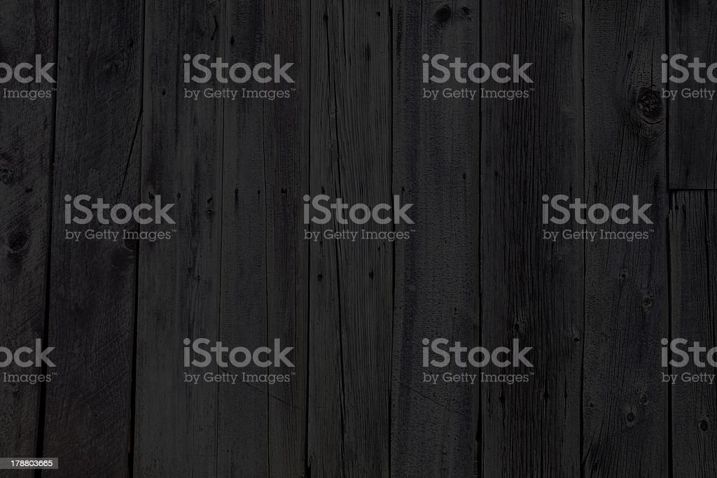 black wood. Interior Design - Wooden Wall Stock Photo Black Wood