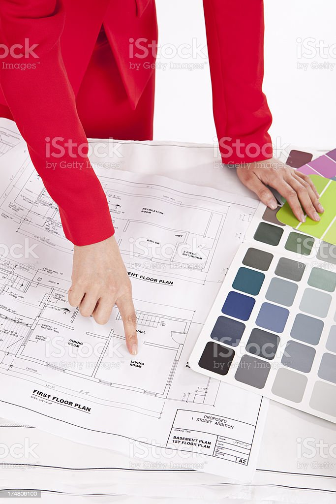 Interior Designer royalty-free stock photo