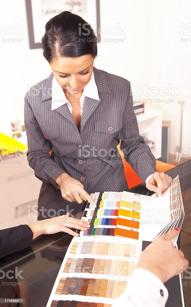 Interior Designers royalty-free stock photo