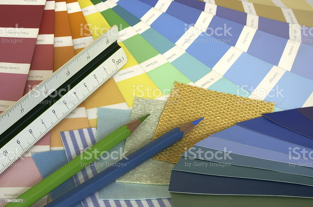 Interior Designing royalty-free stock photo