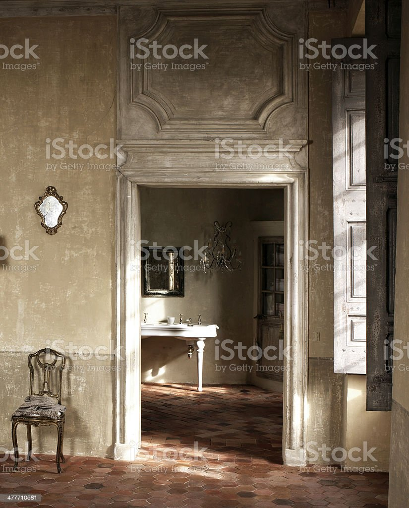 interior detail stock photo