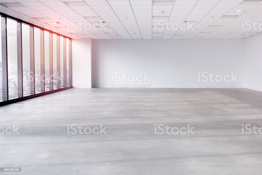 interior empty office room with white wallpaper without furniture rh istockphoto com empty office room wallpaper empty office room wallpaper