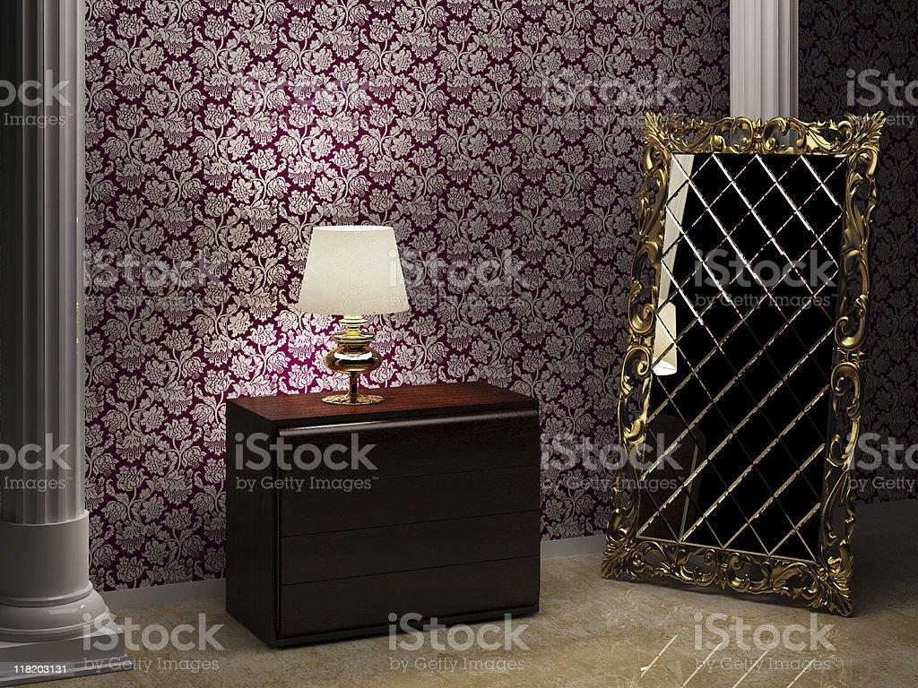 interior frame royalty-free stock photo