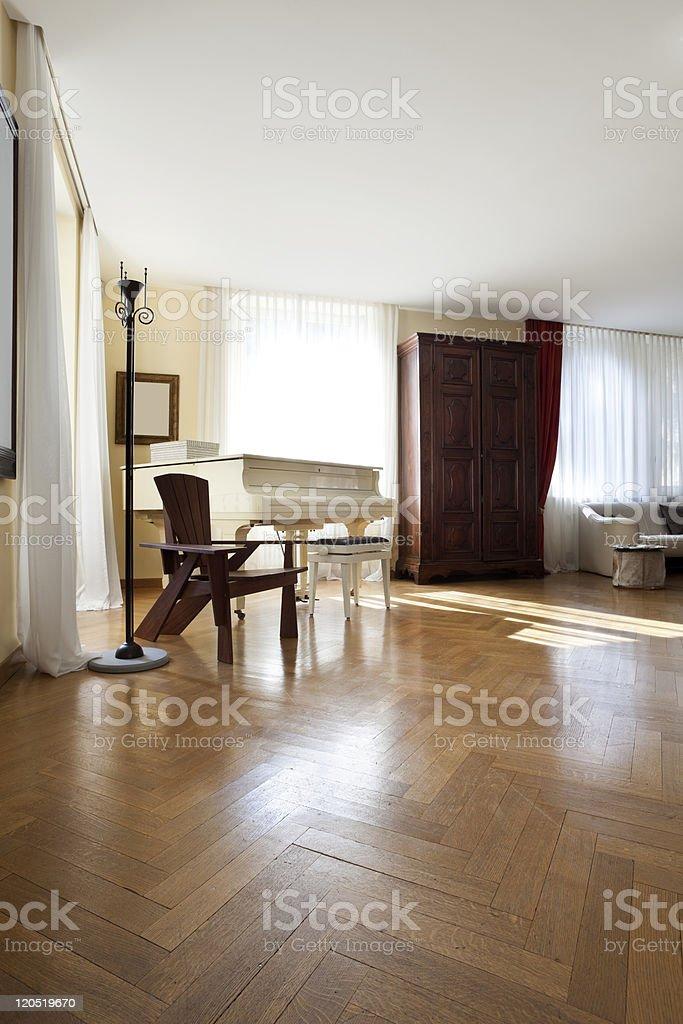 Interior house, nice livingroom royalty-free stock photo