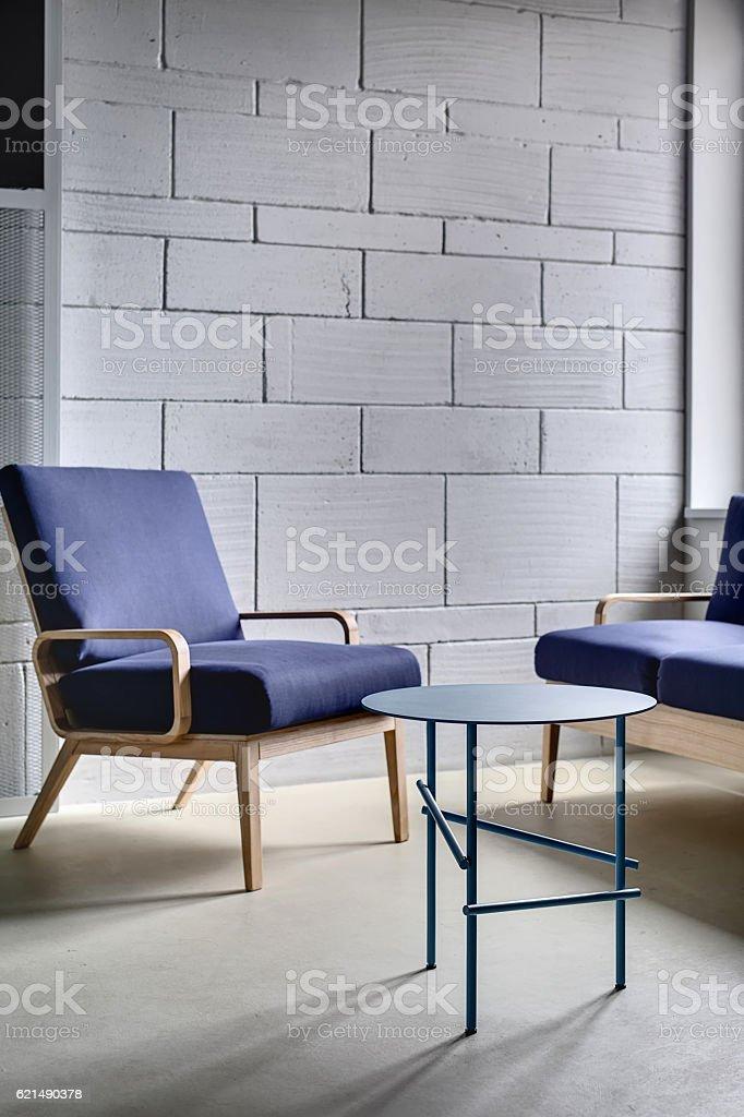 Interior in loft style photo libre de droits