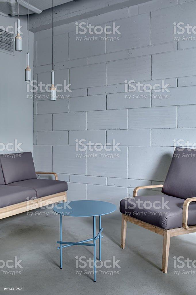 Interior in loft style Lizenzfreies stock-foto