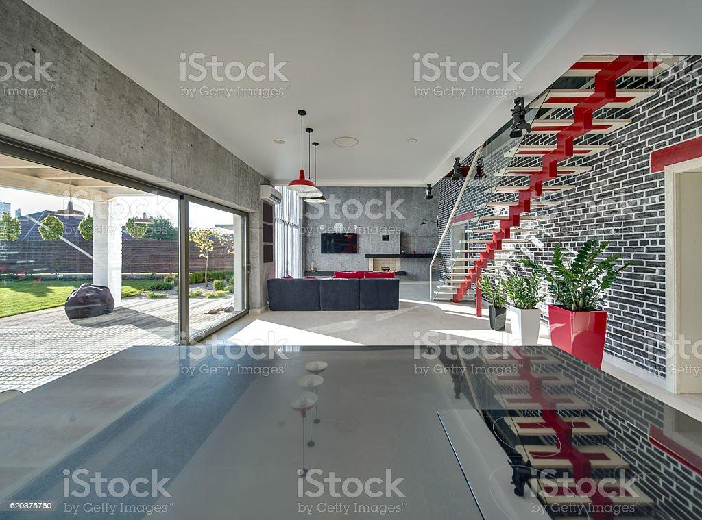 Interior em estilo moderno foto de stock royalty-free