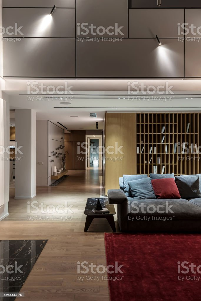 Interior in modern style stock photo