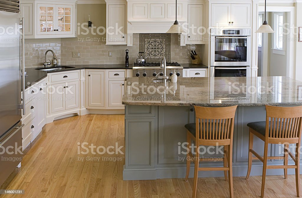 interior kitchen view stock photo