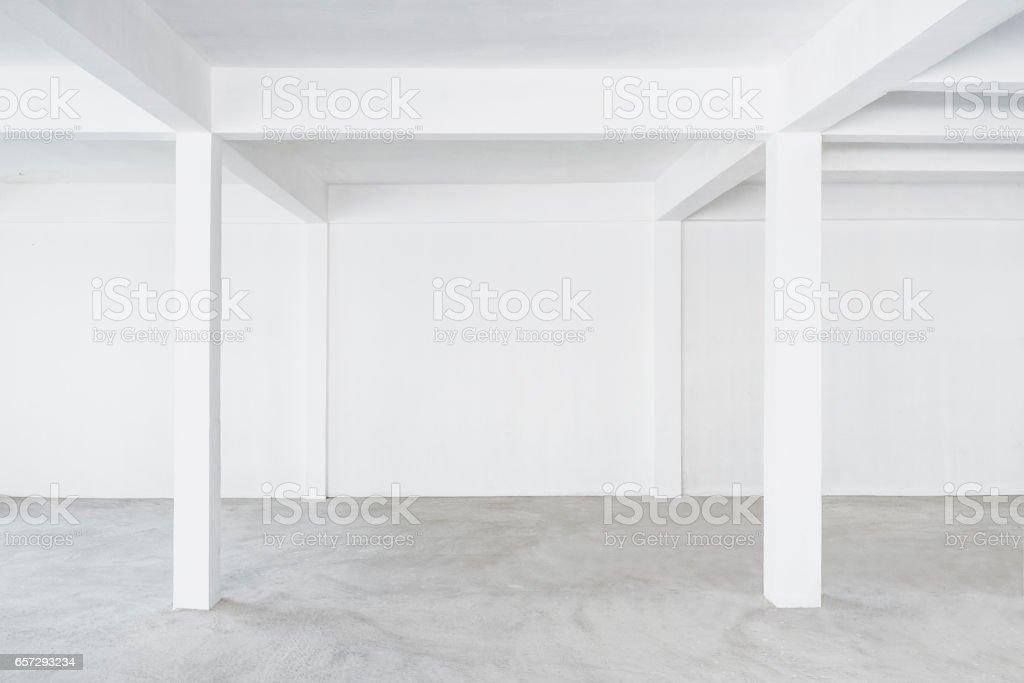 Interior Loft Gebäude Betonboden Leeren Raum Stock-Fotografie und ...