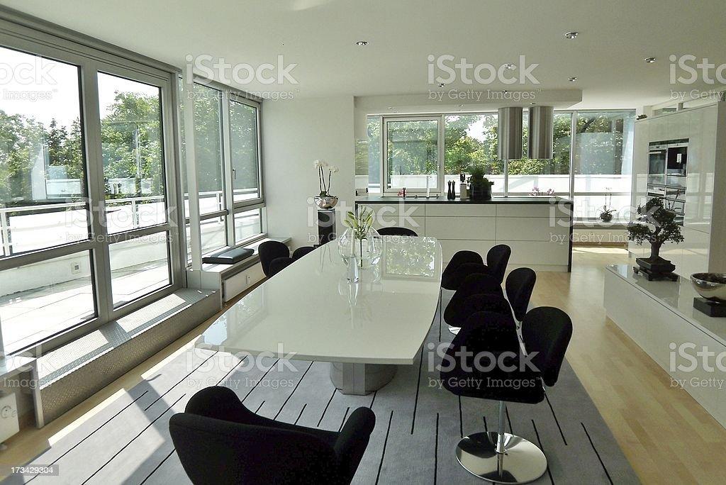 interior luxury apartment royalty-free stock photo