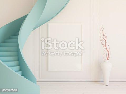 654050754istockphoto Interior mockup 3d 855375588