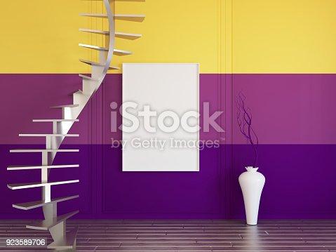 654050754istockphoto Interior mockup 3d 923589706