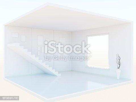 654050754istockphoto Interior model 3d 923591702