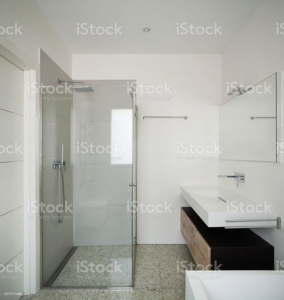 Interior, banheiro moderno - foto de acervo