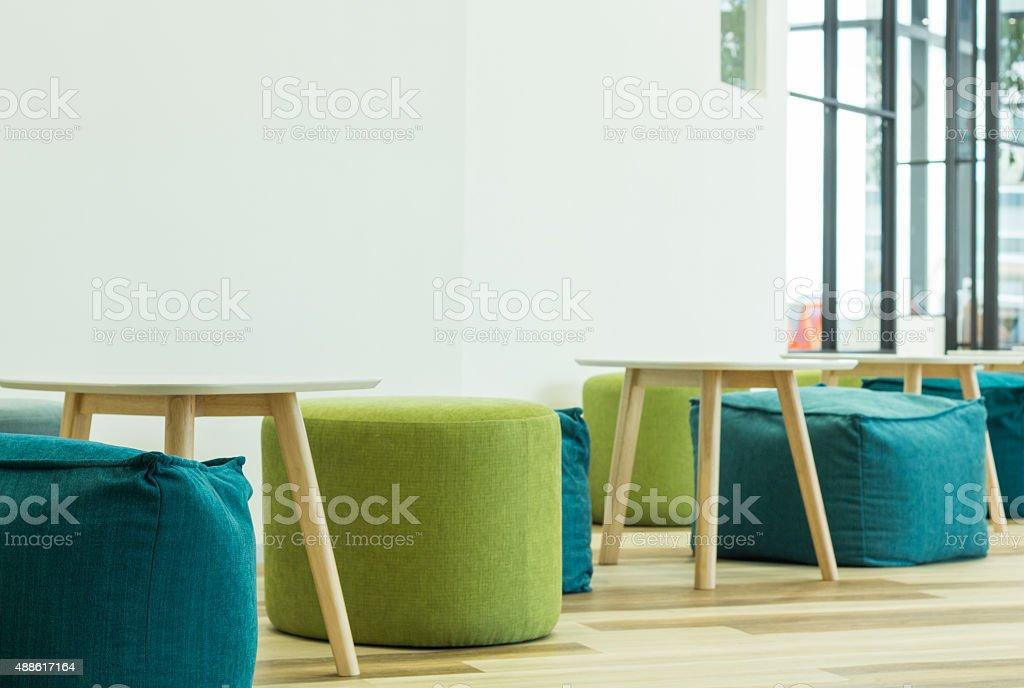 interior modern furniture decoration stock photo