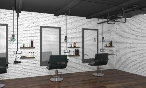 Best Background Of The Hair Salon Interior Stock Photos