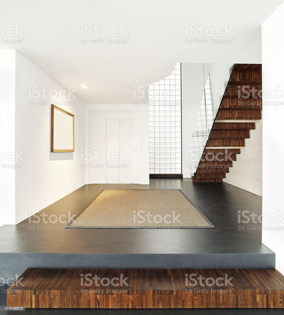 Interieur De La Maison Moderne Avec Escalier Photos Et Plus D