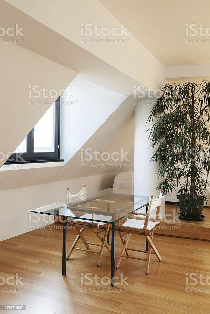 interior modern loft royalty-free stock photo