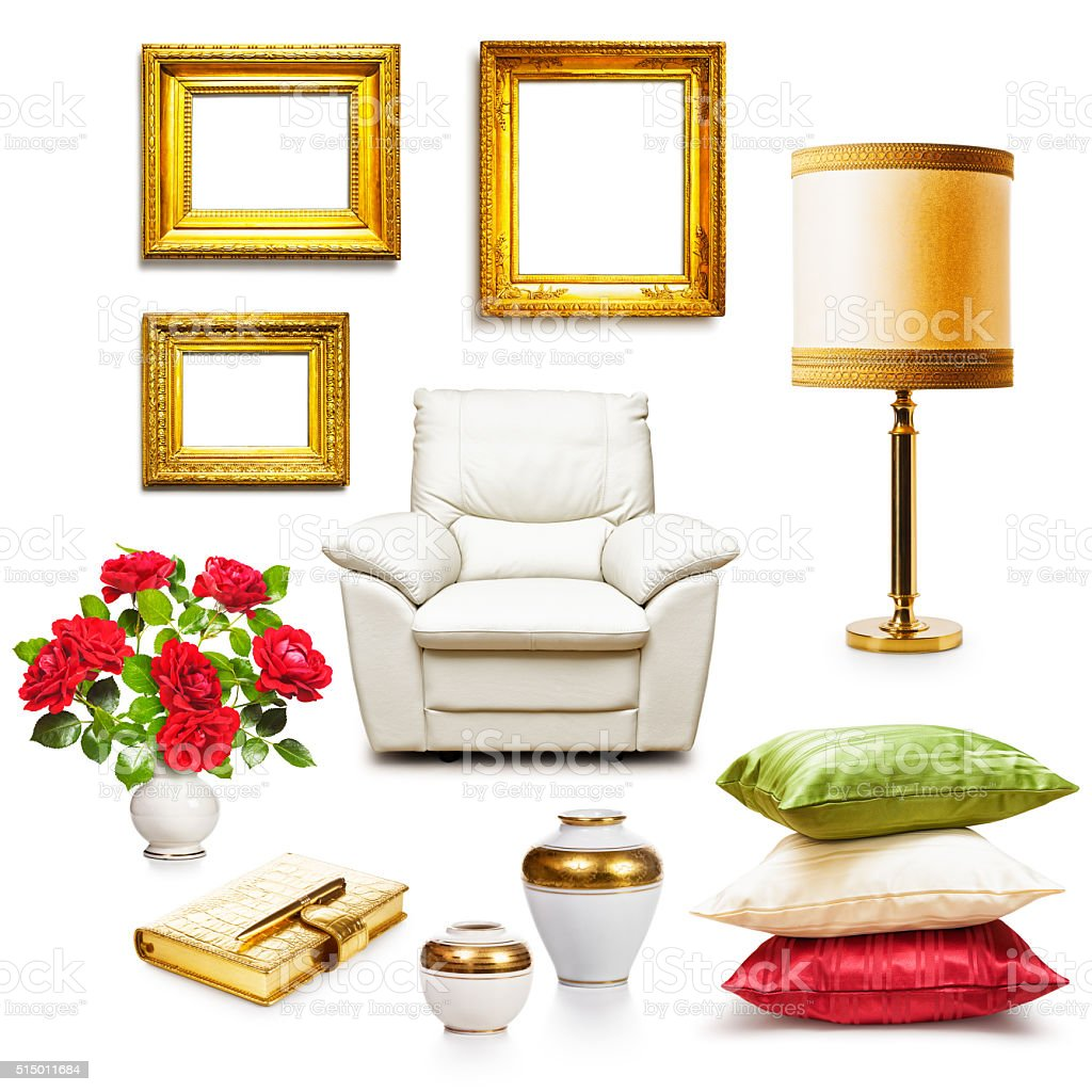 Interior objects stock photo