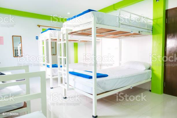 Interior of a bedroom in hostel picture id671150034?b=1&k=6&m=671150034&s=612x612&h=zk5gvttpp96h2gcpdvxgtpcgezmyu1bkibtlrnmmfi0=