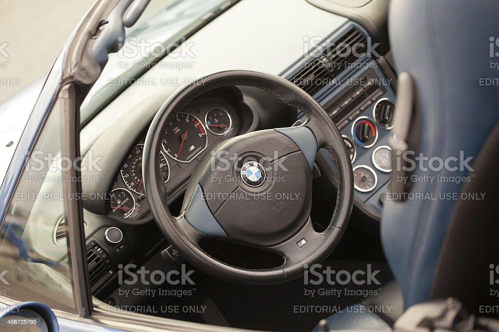 Innenraum eines BMW M Roadster – Foto