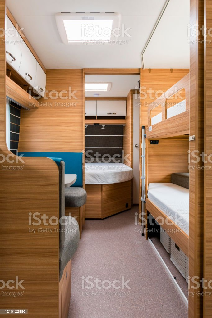 Picture of: Interior Of A Camper Van Stock Photo Download Image Now Istock