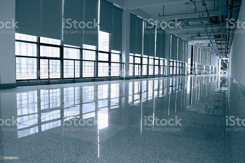 interior of a large exhibition halls royalty-free stock photo