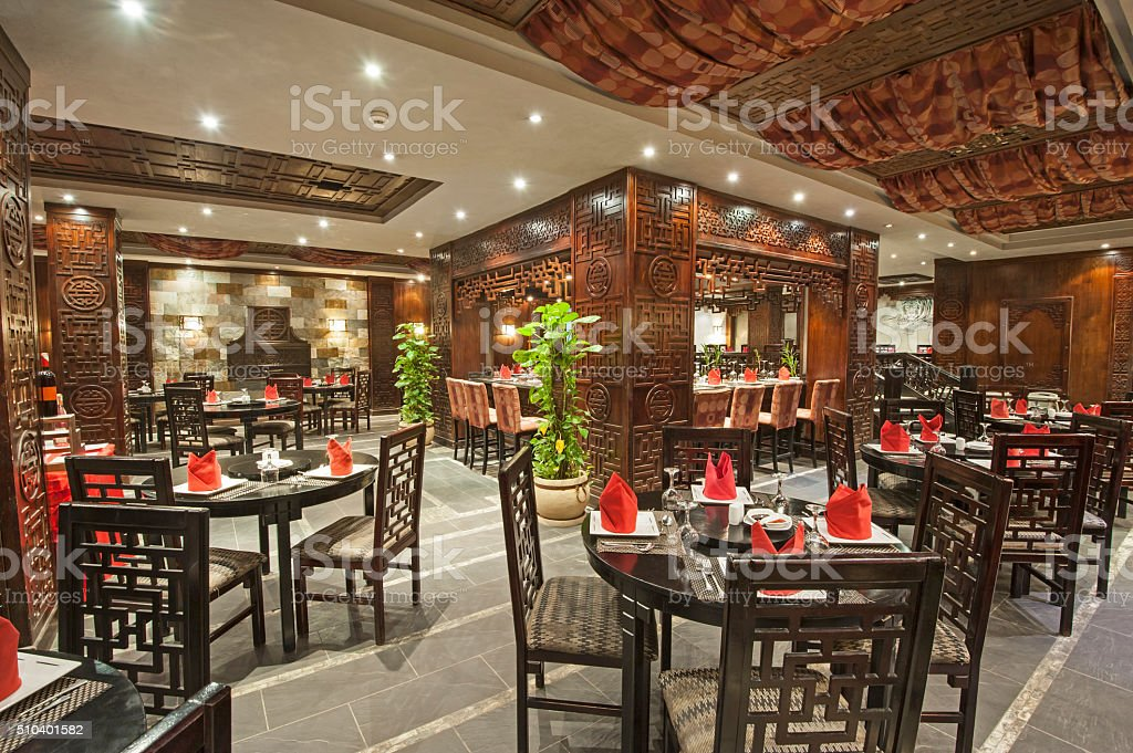 Interior Of A Luxury Hotel Restaurant Stock Photo Download Image Now Istock