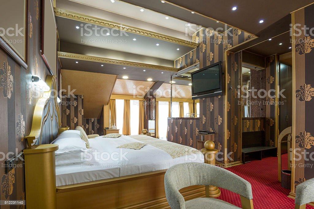 Hotel Di Lusso Interni : Interno di una camera di hotel di lusso fotografie stock e altre