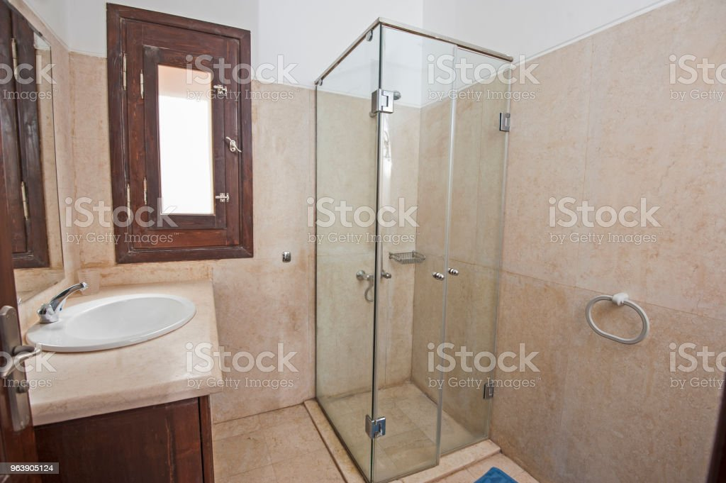 Interior of a luxury show home bathroom - Royalty-free Apartment Stock Photo