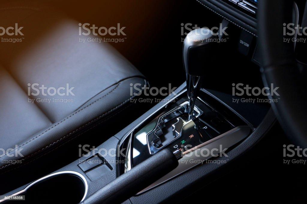 Interieur eines modernen Autos – Foto