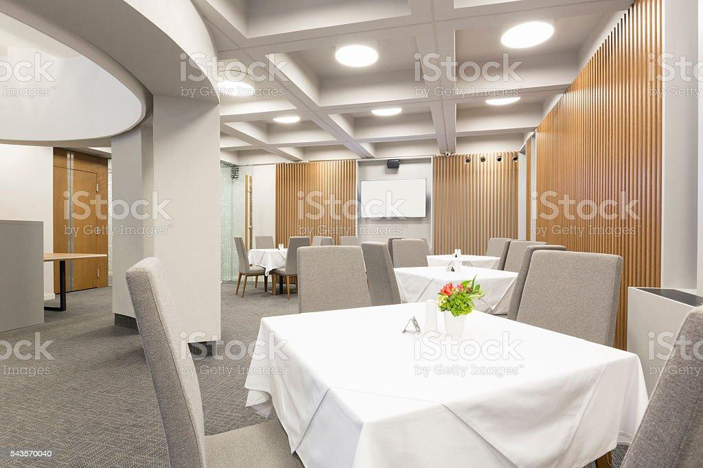 Interior Of A Modern Elegant Restaurant Stockfoto und mehr Bilder ...