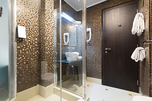 Interior Of A Modern Hotel Bathroom Stock Photo Download Image Now Istock
