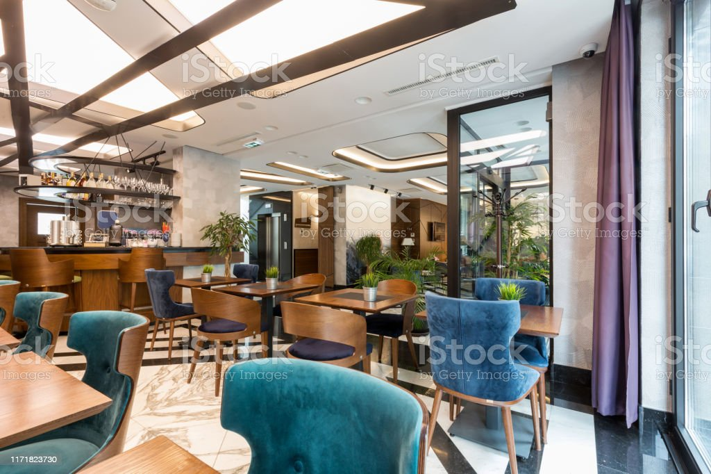 Interior Of A Modern Hotel Lounge Cafe Bar Restaurant Stock Photo Download Image Now Istock