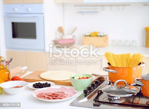 665910118istockphoto interior of a modern kitchen 509475128