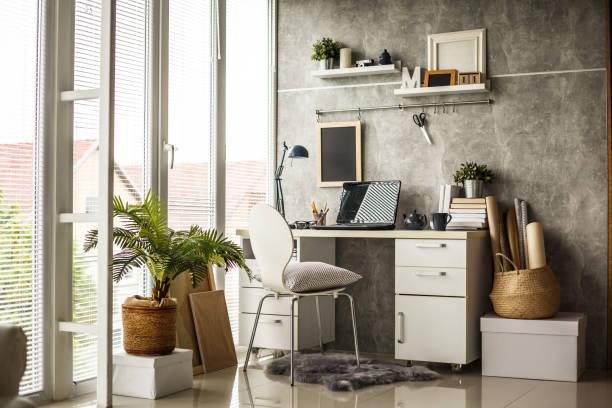 Innenraum eines modernen Büros – Foto