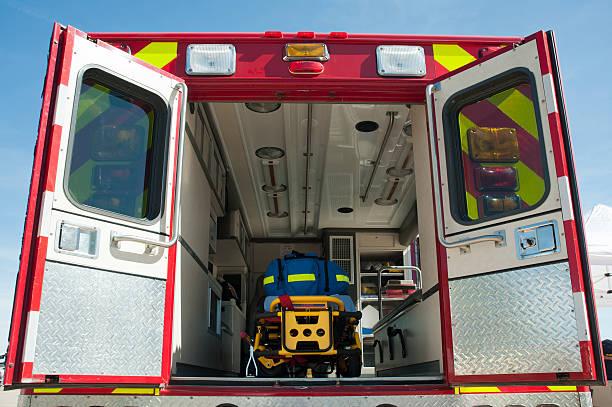 Interior of an Emergency Ambulance