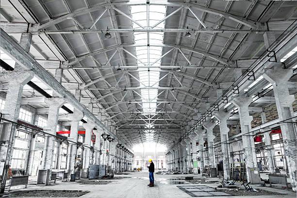 インテリアの建物、工業用 ストックフォト