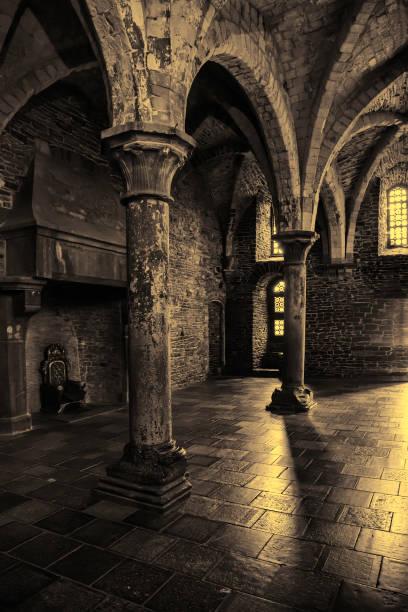 interior of an old historic building - tron zdjęcia i obrazy z banku zdjęć