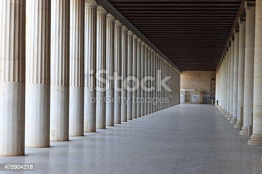 istock Interior of Ancient Agora 475904218