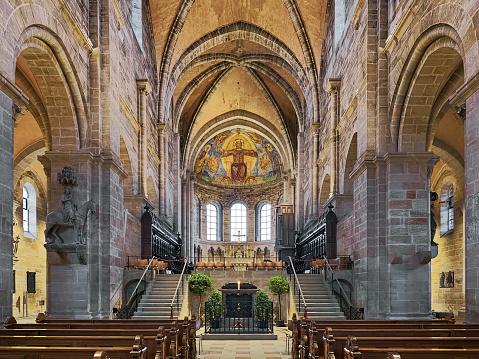 Interior of Bamberg Cathedral, Germany