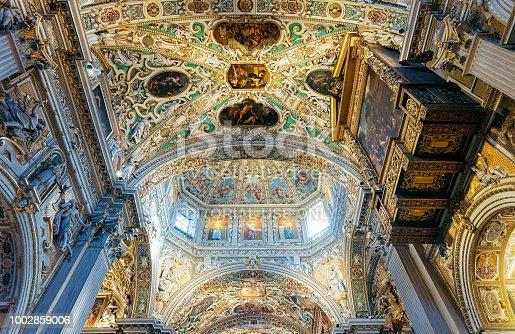 istock Interior of Basilica of Santa Maria Maggiore Bergamo in Italy 1002859006